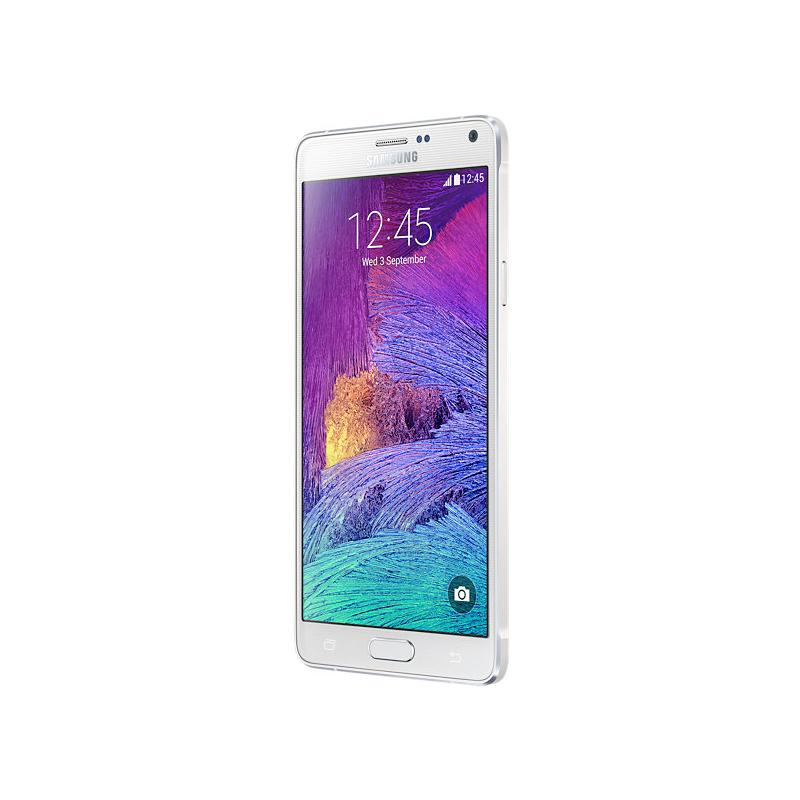 "Smartphone Samsung Galaxy Note 4 com 32GB, Vídeos em 4K, S-Pen, Processador Octa-core, 4G, Câmera CMOS de 16GB, Tela Super AMOLED de 5.7"" - N910, Prata"