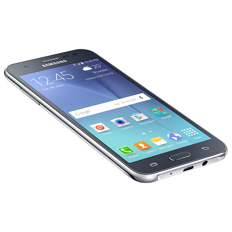 Smartphone Samsung Galaxy J5 com 16GB, Câmera CMOS de 13MP, Flash Frontal, 4G, Dual Chip, Processador Quad Core, Tela Super AMOLED de 5.0