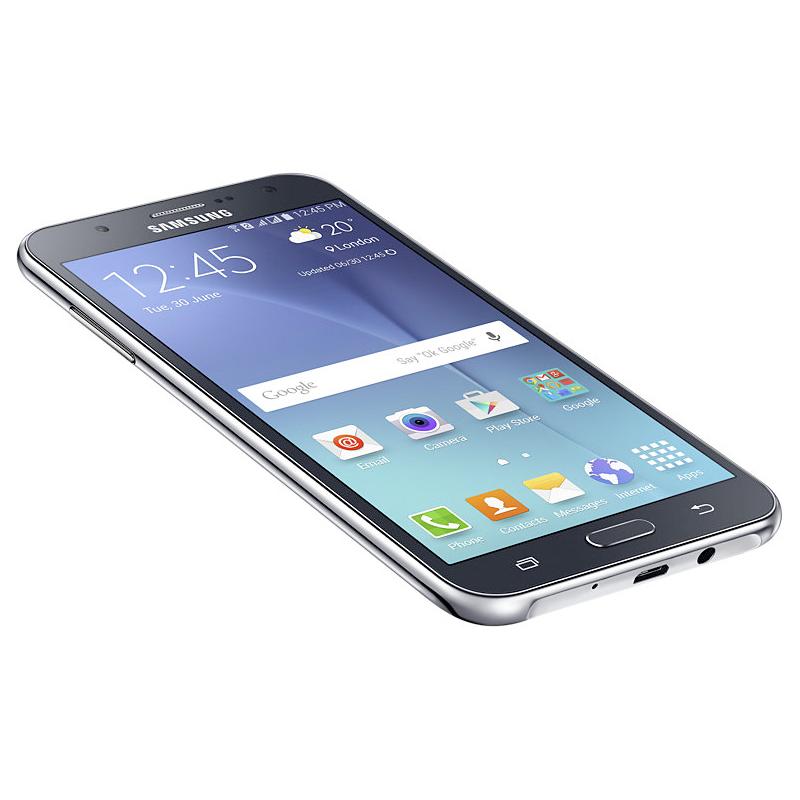 """Smartphone Samsung Galaxy J7 com 16GB, Processador Octa Core, 4G, Câmera CMOS de 13MP, Flash Frontal, Dual Chip, Tela Super AMOLED de 5.5"""" - SM-J700 Duos, Preto *"""