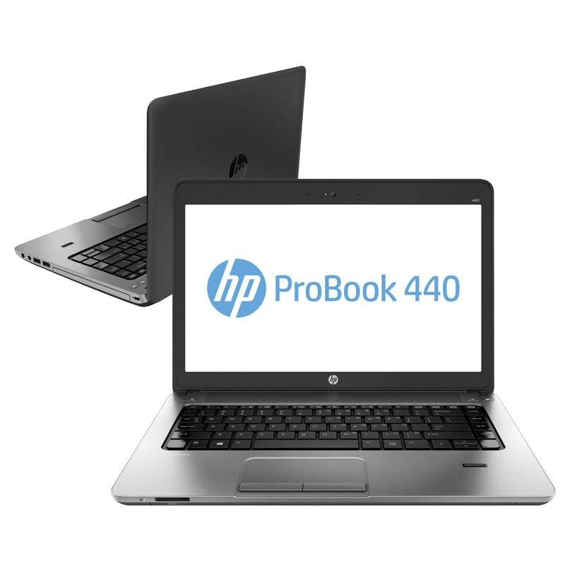 Notebook HP ProBook 440 G1  Intel Core i5, 4GB de Memória, SSD de 240GB, Leitor Biométrico, Tela LED de 14