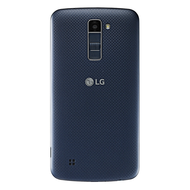 Smartphone LG K10 com 16GB, Câmera de 13MP e selfie de 8MP com Virtual Flash, 4G, Quad Core, Tela HD de 5.3