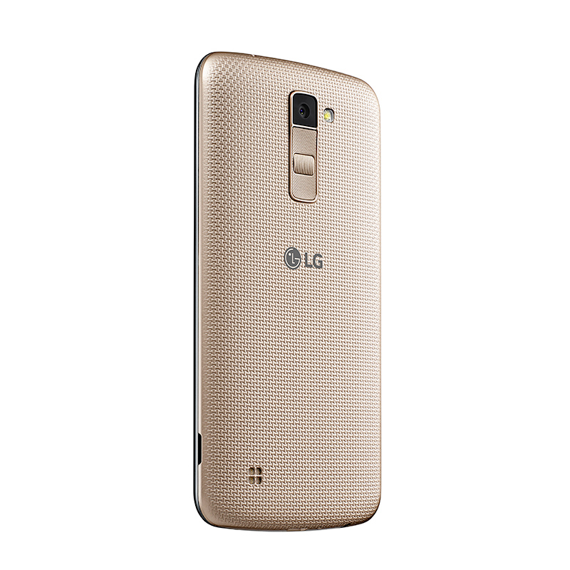 Smartphone LG K10 com 16GB, Câmera de 13MP e selfie de 8MP com Virtual Flash, 4G, Quad Core, Tela HD de 5.3