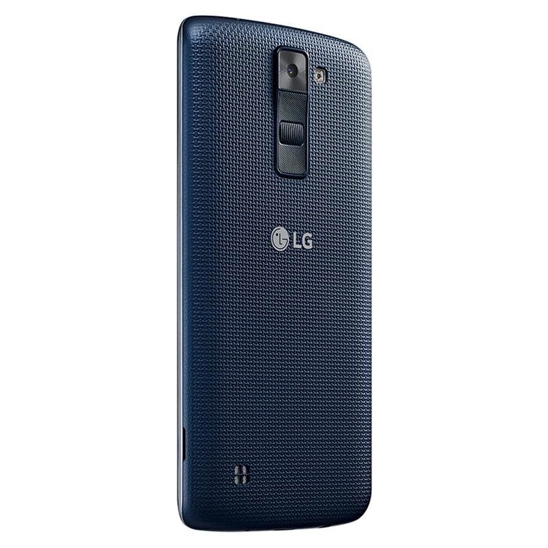 Smartphone LG K8 com 16GB, Câmera de 8MP e selfie de 5MP com Virtual Flash, 4G, Quad Core, Tela HD de 5.0