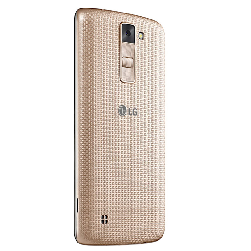 "Smartphone LG K8 com 16GB, Câmera de 8MP e selfie de 5MP com Virtual Flash, 4G, Quad Core, Tela HD de 5.0"" - K350F, Dourado *"