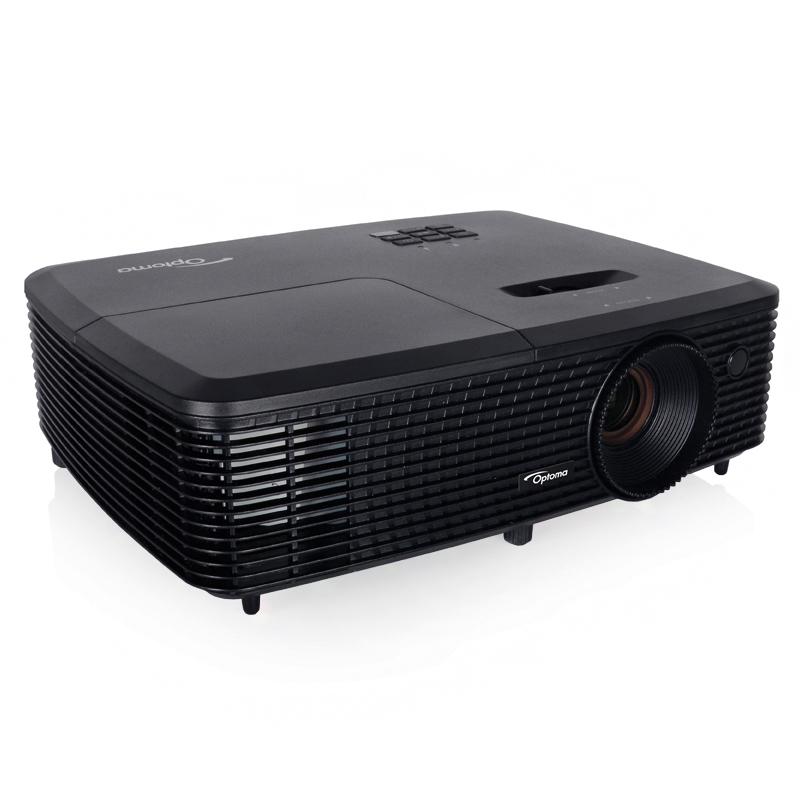 Projetor Optoma BR334 - Full 3D comp., Resolução SVGA, Contraste de 22.000:1, 3500 lúmens, HDMI, Perfil sRGB