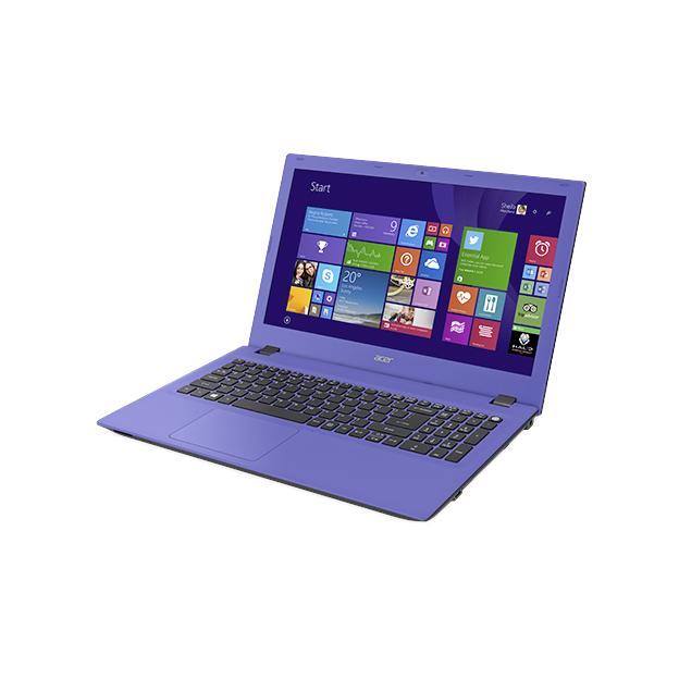 """Notebook Acer Aspire E - Intel Quad Core, 4GB de Memória, HD de 1TB, Tela LED de 15.6"""", Windows 10 - E5-532, Roxo"""