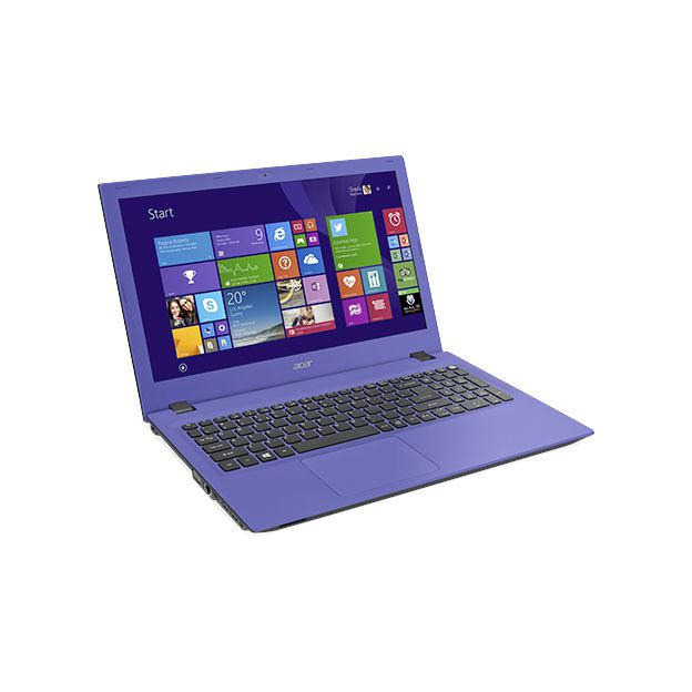 "Notebook Acer Aspire E - Intel Quad Core, 8GB de Memória, HD de 1TB, Tela LED de 15.6"", Windows 10 - E5-532, Roxo"