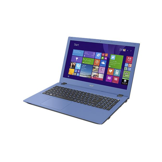 "Notebook Acer Aspire E - Intel Quad Core, 8GB de Memória, HD de 1TB, Tela LED de 15.6"", Windows 10 - E5-532, Azul"