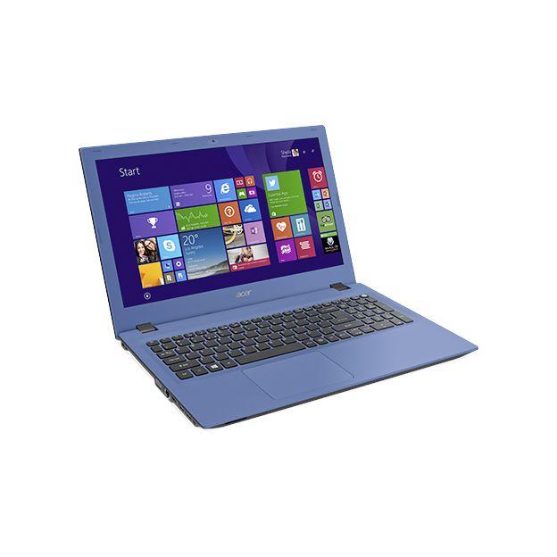 """Notebook Acer Aspire E - Intel Quad Core, 4GB de Memória, HD de 1TB, Tela LED de 15.6"""", Windows 10 - E5-532, Azul"""