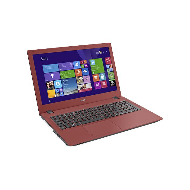 "Notebook Acer Aspire E - Intel Quad Core, 8GB de Memória, HD de 1TB, Tela LED de 15.6"", Windows 10 - E5-532, Vermelho"