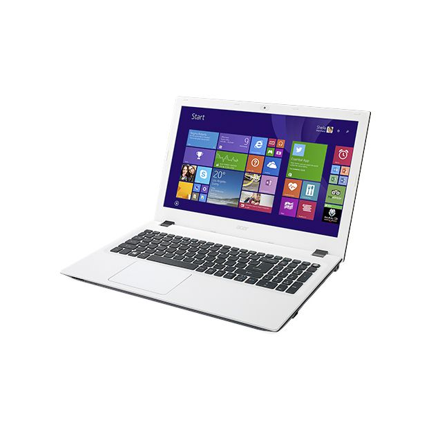 "Notebook Acer Aspire E - Intel Quad Core, 4GB de Memória, HD de 1TB, Tela LED de 15.6"", Windows 10 - E5-532, Branco"