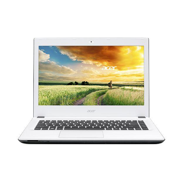 """Notebook Acer Aspire E - Intel Quad Core, 8GB de Memória, HD de 1TB, Tela LED de 15.6"""", Windows 10 - E5-532, Branco"""