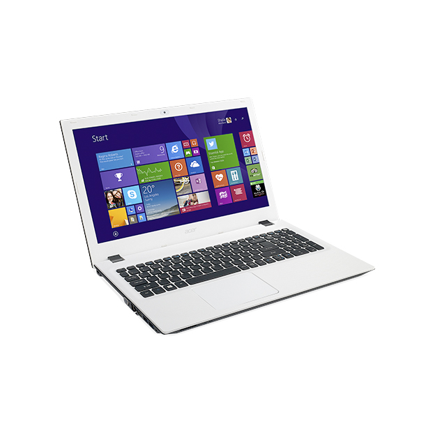 "Notebook Acer Aspire E - Intel Quad Core, 8GB de Memória, HD de 1TB, Tela LED de 15.6"", Windows 10 - E5-532, Branco"