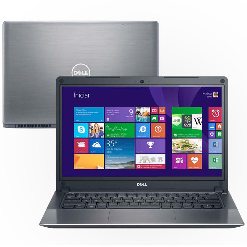 Notebook DELL Vostro 5470 Ultrabook - Intel Core i5, 8GB de Memória, HD de 500GB, Placa de Vídeo GeForce 2GB, Ultrafino, Tela LED de 14