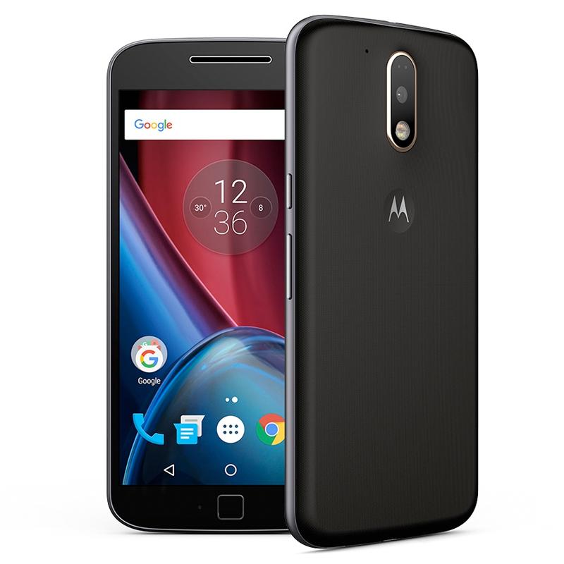 Smartphone Motorola Moto G4 Plus com 16GB, Leitor Biométrico, Câmera de 16MP com Foco Laser e PDAF, Octa Core, Resistente à água, Turbo Carregamento, 4G, Dual Chip - XT1642, Preto *