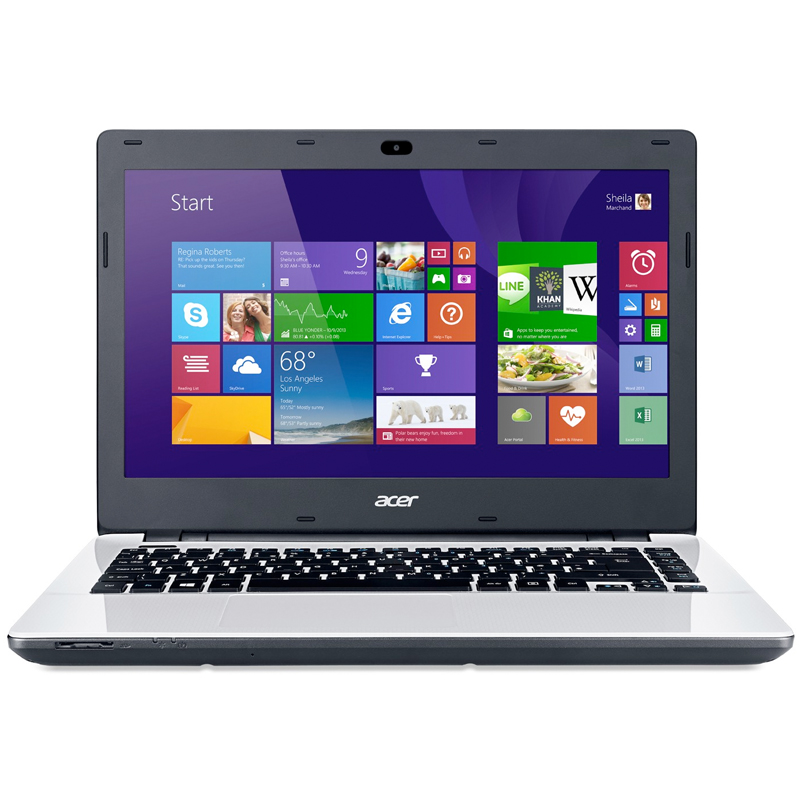 "Notebook Acer Aspire E5 - Intel Core i7, Memória de 8GB, Placa de Vídeo Geforce de 2GB, HD de 1TB, Bluetooth, Tela LED de 14"" - E5-471G, Branco"