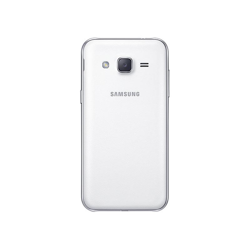 """Smartphone Samsung Galaxy J2 com Processador Quad Core, Dual Chip, Câmera CMOS de 5MP, Tela Super AMOLED de 4.7"""" - SM-J200H Duos, Branco *"""
