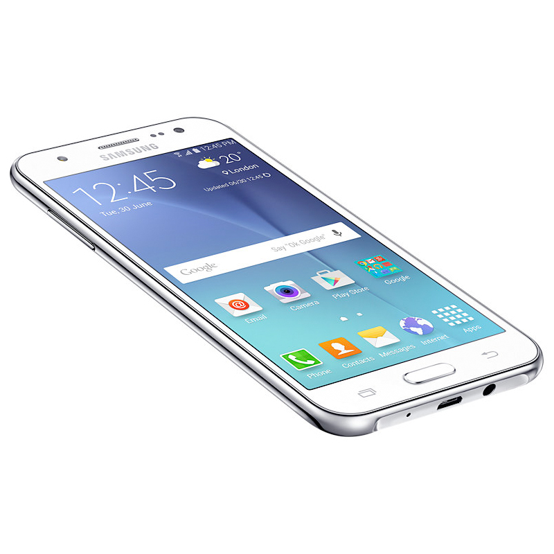 Smartphone Samsung Galaxy J5 com 16GB, Câmera CMOS de 13MP, Flash Frontal, 4G, Processador Quad Core, Tela Super AMOLED de 5.0