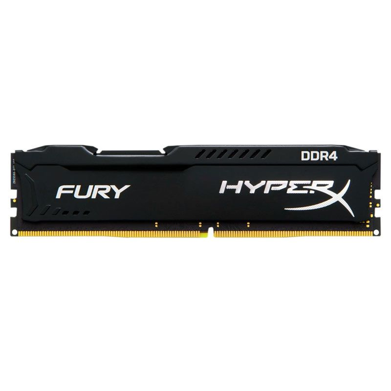 Memória DDR4 Kingston HyperX Black Fury - 16GB 2400Mhz *