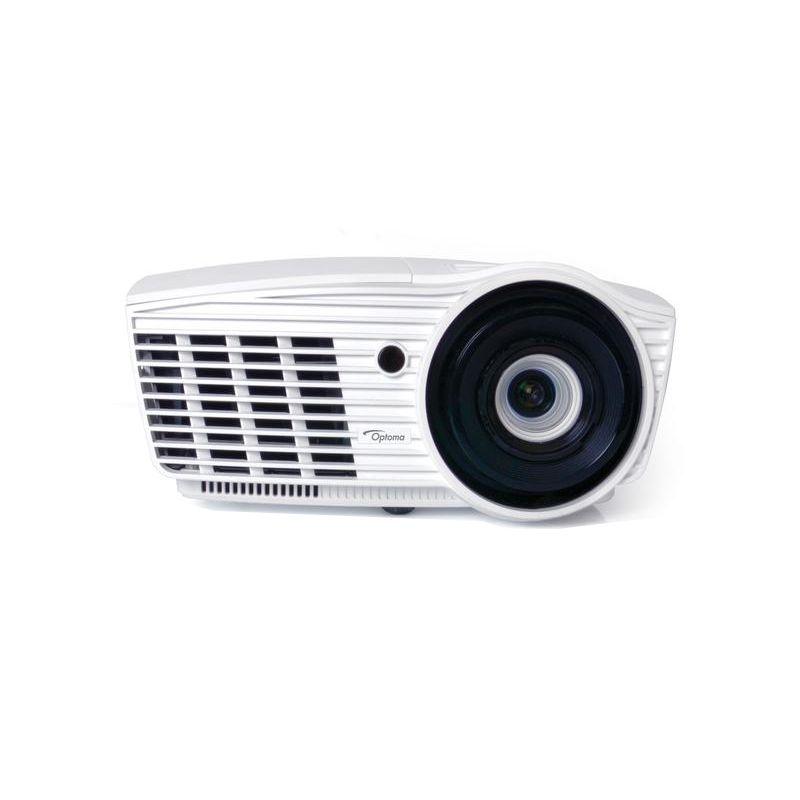 Projetor Optoma HD50 3D Full HD - 2600 Lumens,  Contraste de 50.000:1, Compatível a 3D, Portas WUXGA e HDTV