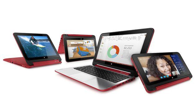 """Notebook  2 em 1 Touch HP x360 - Processador Intel Dual Core, 4GB de memória, HD de 500GB, Porta HDMI, Alto-Falantes Beats Audio, Tela LED de 11.6"""""""
