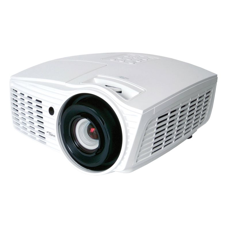 Projetor Optoma HD37 DLP 3D - 2600 Lumens, Contraste de  20000:1, Compatível a 3D, Full HD 1920x1080