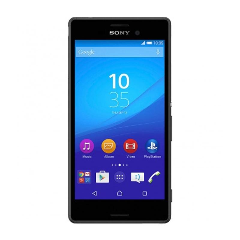 """Smartphone Sony Xperia M4 Aqua com 16GB, Dual chip, Câmera de 13.0 MP, 4G, Processador Octa Core, Resistênte à água e poeira, NFC , Tela de 5.0"""" - E-2333, Preto"""