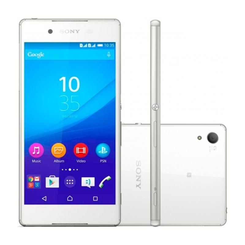 Smartphone Sony Xperia Z3+ com 32GB, Dual chip, Câmera de 27.0 MP, Vídeos em 4K, 4G, Processador Octa Core, Resistênte à água e poeira, NFC , Tela de 5.2