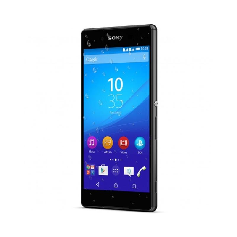 """Celular Sony Xperia Z3+ com 32GB, Dual chip, Câmera de 27.0 MP, Vídeos em 4K, 4G, Processador Octa Core, Resistênte à água e poeira, NFC , Tela de 5.2"""" - E-6533, Preto"""