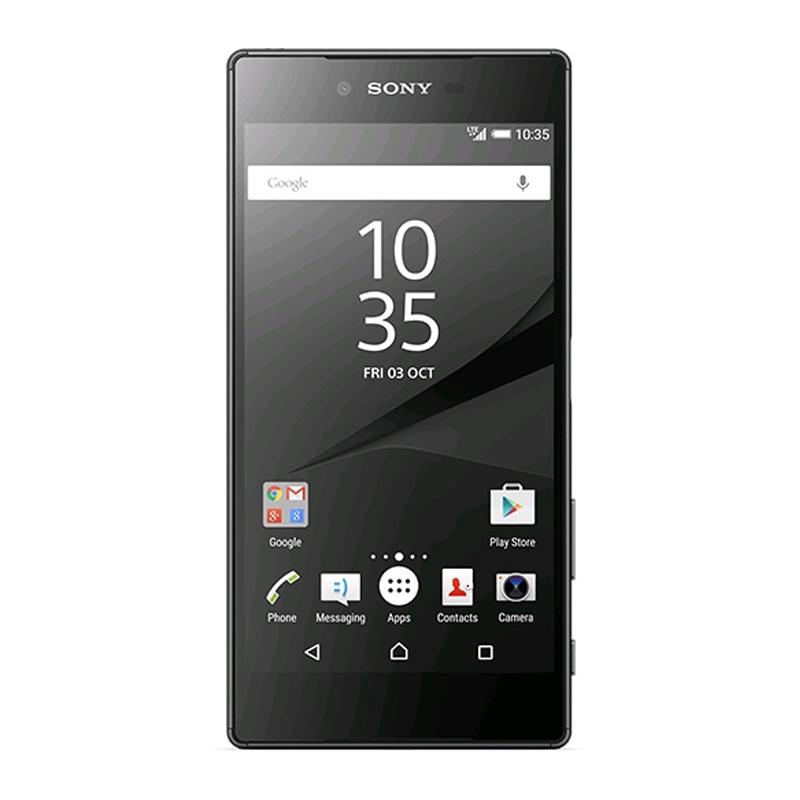 """Smartphone Sony Xperia Z5 com 32GB, Dual Chip, Câmera de 23 MP, Câmera para Selfie 5 MP, Vídeos em 4K, 4G, Processador Octa Core, Resistênte à água e poeira, NFC , Tela de 5.2"""" - E-6689, Preto"""