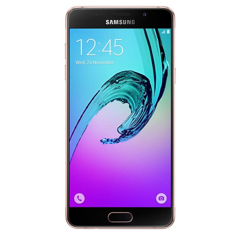 """Smartphone Samsung Galaxy A5 2016 Duos com 16G, Dual Chip, 4G, Processador Octa Core, Câmera de 13.0 MP, Selfie de 5.0, Tela Super AMOLED 5.2"""" - A510M, Rosa *"""
