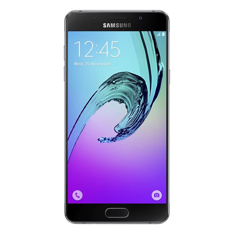 """Smartphone Samsung Galaxy A5 2016 Duos com 16G, Dual Chip, 4G, Processador Octa Core, Câmera de 13.0 MP, Selfie de 5.0, Tela Super AMOLED 5.2"""" - A510M, Preto *"""