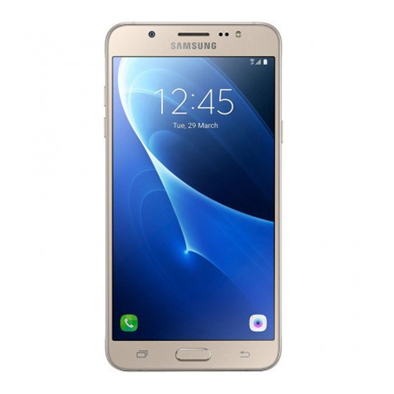 "Smartphone Samsung Galaxy J7 Metal de 16GB, Octa Core, 4G, Câmera de 13MP, Flash LED, Dual Chip, Tela Super AMOLED de 5.5"" - SM-J710 Duos - Dourado *"