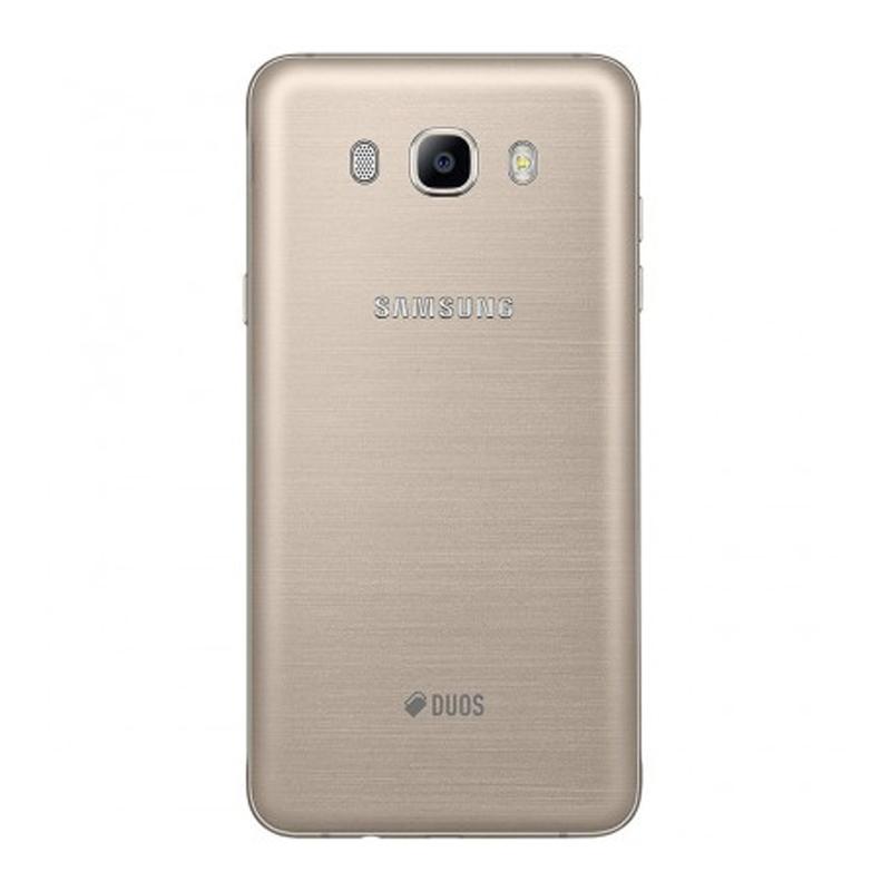 """Smartphone Samsung Galaxy J5 Metal 2016 Duos  com 4G, Dual Chip, 4G, Câmera de 13.0 MP, Selfie de 5.0, Tela Super AMOLED 5.0"""" - J510, Dourado *"""