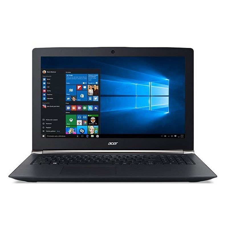 "Notebook Acer Gaming Nitro BLACK EDITION  -  Intel Core i7-6700HQ, 16GB de memória, HD de 1TB+128SSD, Placa de Vídeo  GeForce GTX 960M com 4G, Tela FULL HD de  15.6"" - VN7-592G-70EN"