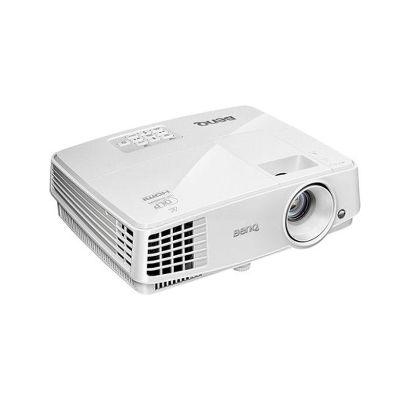 Projetor BENQ MS527 - Suporte Blu-ray Full HD 3D, Lumens 3.300, Contraste 13.000:1, HDMI, USB, SVGA