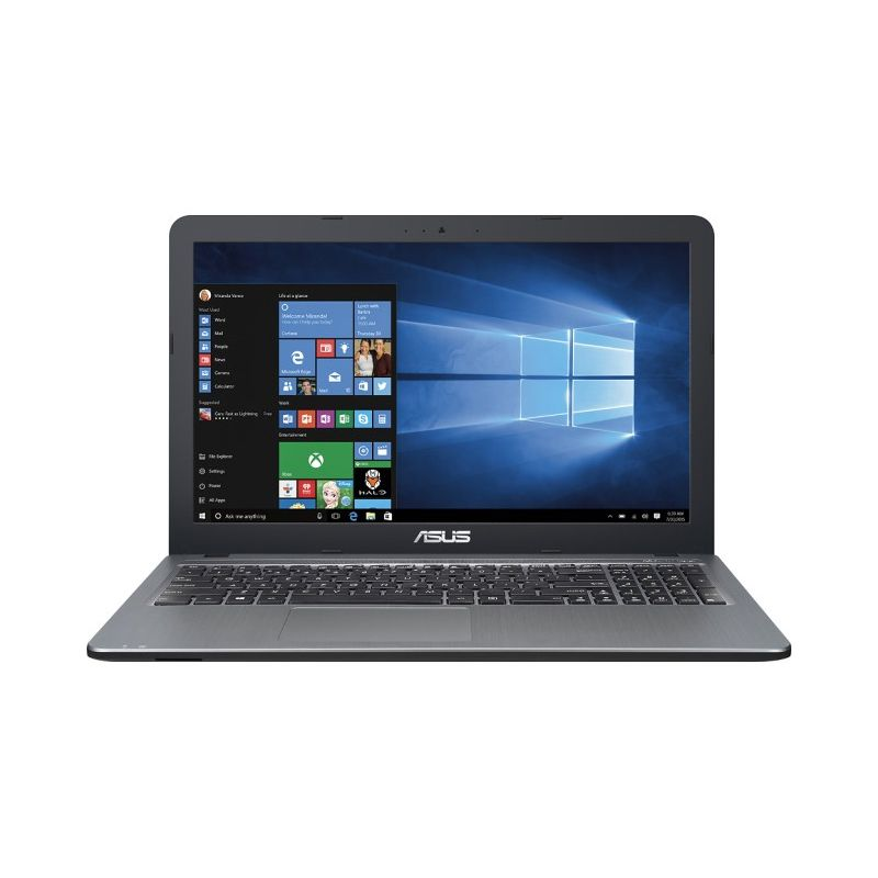 "Notebook Asus VivoBook X540 - Intel Quad Core, 8GB de Memória, HD de 500GB, Tela LED de 15.6"", Windows 10 - X540SA-BPD0602V"