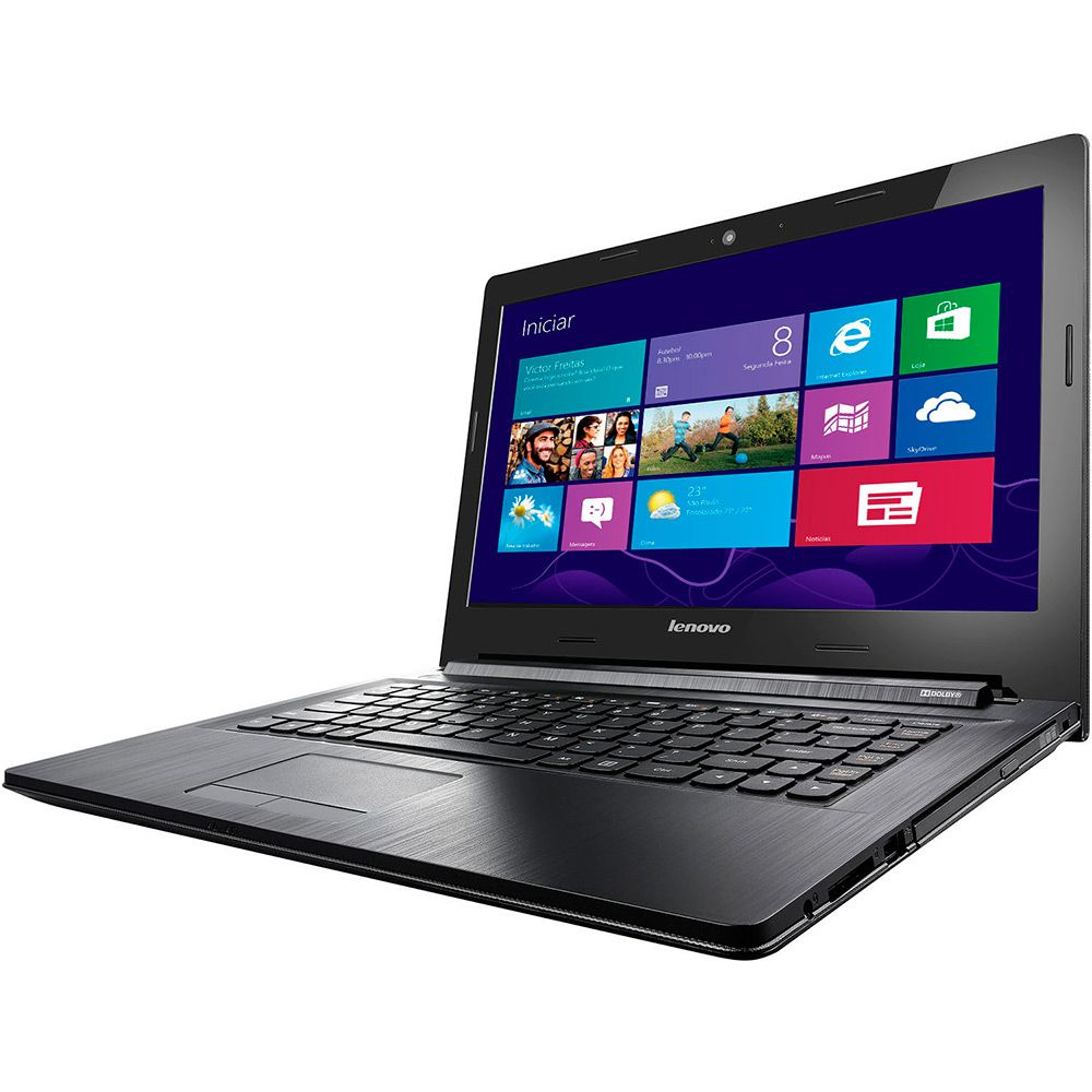 "Notebook Lenovo G40 Intel Core i5, Memória 6GB, HD 1TB, Placa de vídeo 2GB dedicada, Gravador de DVD,HDMI, USB 3.0, Tela LED 14""  (showroom)"
