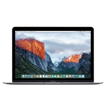 "Notebook Apple MacBook MF865 - Novo Intel Core M Dual Core, 8GB de Memória, SSD de 512GB, Force Touch, USB-C (Multifunções), Tela Retina LED de 12"" -  Prateado *"
