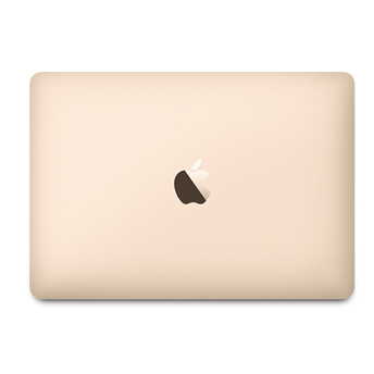 """Notebook Apple MacBook MLHE2 - Novo Intel Core M3, 8GB de Memória, SSD de 256GB, Force Touch, USB-C (Multifunções), Tela Retina LED de 12"""" - Dourado *"""