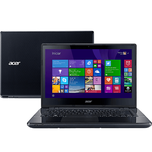 Notebook Acer E5-471 Intel Core i3, Memória de 4GB, HD 500GB, Gravador de DVD,  HDMI,  Windows 8.1, Tela 14 (showroom)