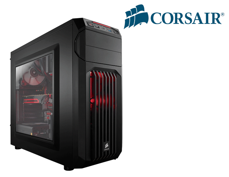 Computador Gamer - Intel Core i7-7700 7° Geração, 8GB DDR4, Placa Mae H110, HD de 1TB, Placa de Vídeo GTX1070 8GB, Fonte 600W Real *