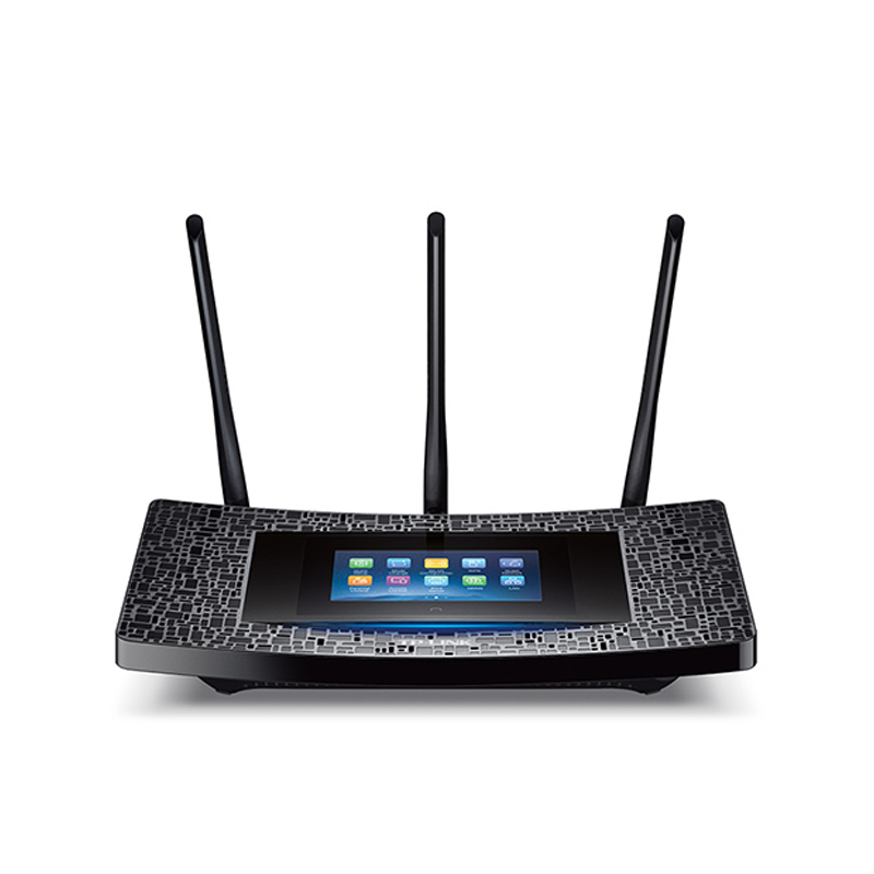 Roteador TP-Link -  Wi-Fi Gigabit, Tela Touch de 4,3