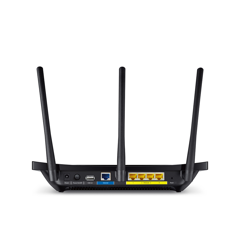 "Roteador TP-Link -  Wi-Fi Gigabit, Tela Touch de 4,3"",  Dual Banda 2.4GHZ /5GHZ - C1900"