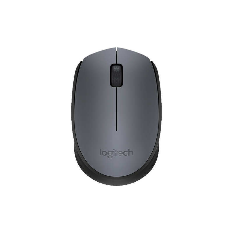 Mouse Logitech - Wireless, Óptico - M170 Cinza *