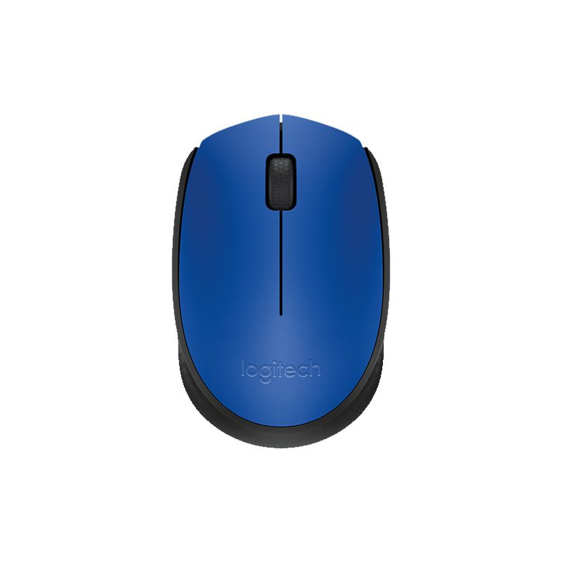Mouse Logitech - Wireless, Óptico - M170 Azul