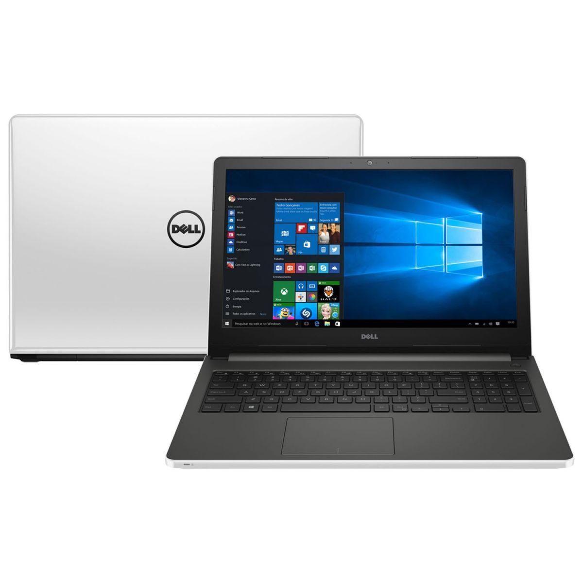 """Notebook Dell Inspiron - Intel Core i7. 8GB de Memória, HD de 1TB, Placa de Vídeo Nvidia Geforce 4GB, Tela HD de 15.6"""", Windows 10 - 15-5558"""
