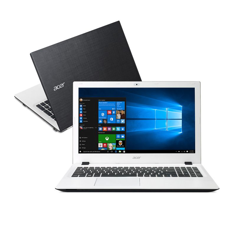 "Notebook Acer  Aspire - Intel Core  i5-6200U, 4GB de Memória, HD de 1TB, Tela LED de 15.6"", Windows 10 - E5-574-50LD  (showroom)"