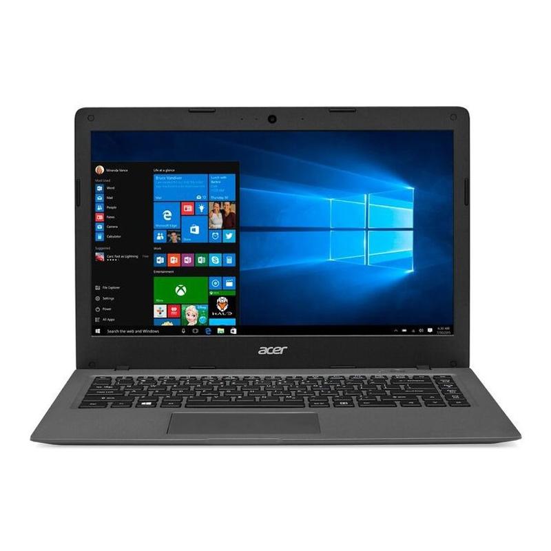 Notebook Acer Cloudbook - Intel Dual Core, 2GB de Memória, HD de 32GB + 1TB Armazenamento em OneDrive , Tela LED de 14
