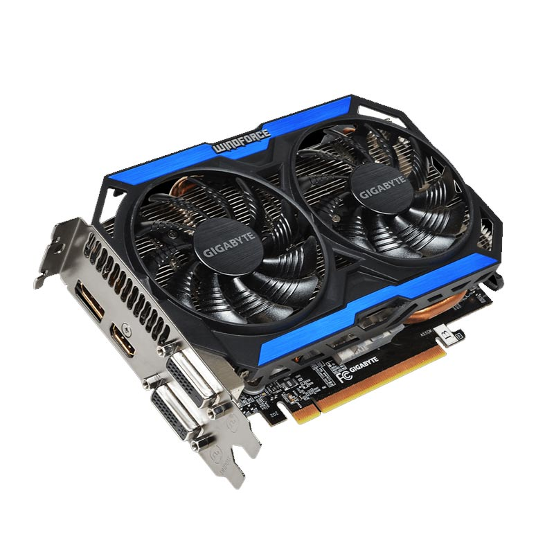 Placa de Video Gigabyte NVIDIA GeForce GTX 960 OC WINDFORCE - 2GB, 128 BITS GDDR5 - GV-N960OC-2GD